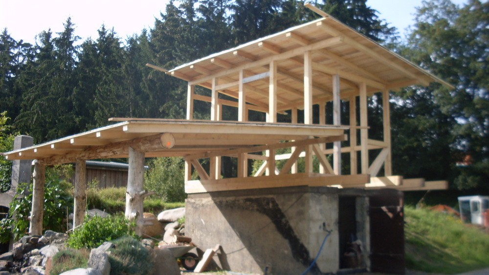 Holzbau qualitativ erstklassige arbeiten for Fachwerk holz